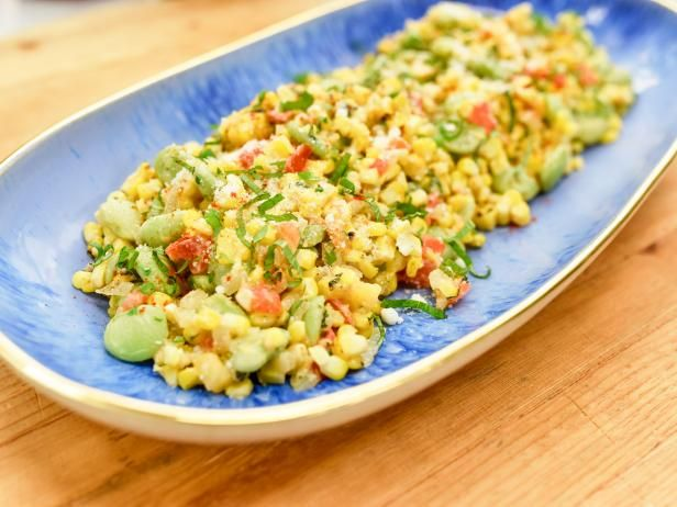 Get Summer Succotash Recipe from Food Network