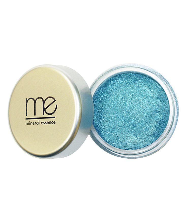 Love this Mineral Essence Dark Cyan Shimmer Eye Shadow by Mineral Essence on #zulily! #zulilyfinds