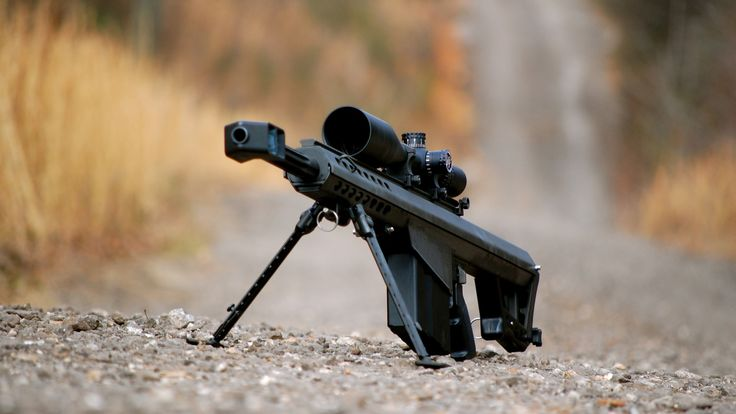 Barrett M82 Large Caliber Sniper Rifle Wallpaper - http://www.gbwallpapers.com/barrett-m82-large-caliber-sniper-rifle-wallpaper/ (Barrett M82, Large Caliber, rifle, Sniper, Wallpaper / Other)