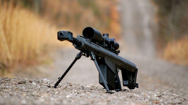 Barrett M82 Large Caliber Sniper Rifle Wallpaper http