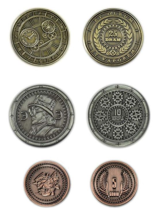 Steampunk coins for sale!!