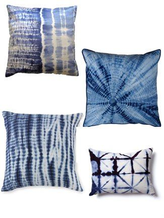 9 Shibori Home Accessories from Katie Anderson of Modern Eve - The Nest