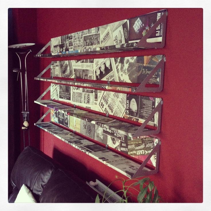 NME covered CD shelves