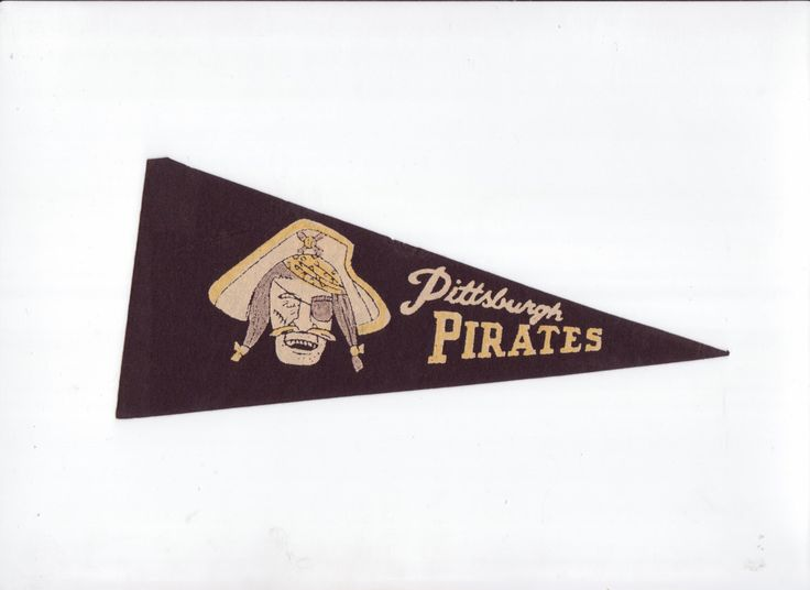 Vintage SMALL MINI  Baseball Pennant Pittsburgh Pirates Felt Pennant Flag 1970s Sports Collectible Sports Decor Gameroom Man Cave Gift by TheOldTimeJunkShop on Etsy https://www.etsy.com/listing/232353409/vintage-small-mini-baseball-pennant