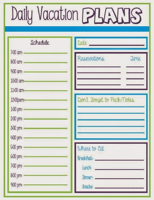 Vacation schedule free excel leave tracker template for Planning colorado vacation