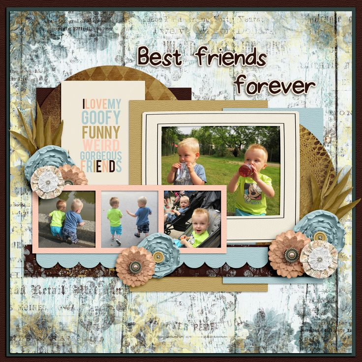 17 best farewell summer digital scrapbook kit by aprilisa kit pixelily designs best friends forever template aprilisa designs picture perfect 78 pronofoot35fo Image collections