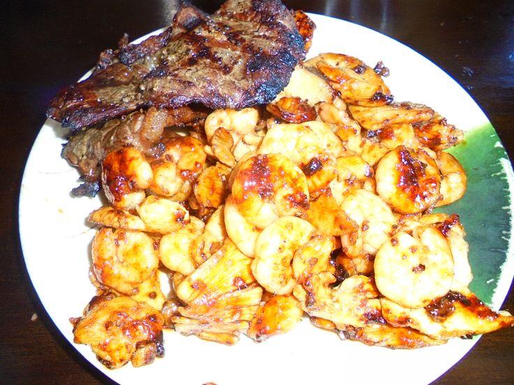 #Steak, #Shrimp, and #Chicken #Hibachi style. #Meat well done - www.drewrynewsnetwork.com