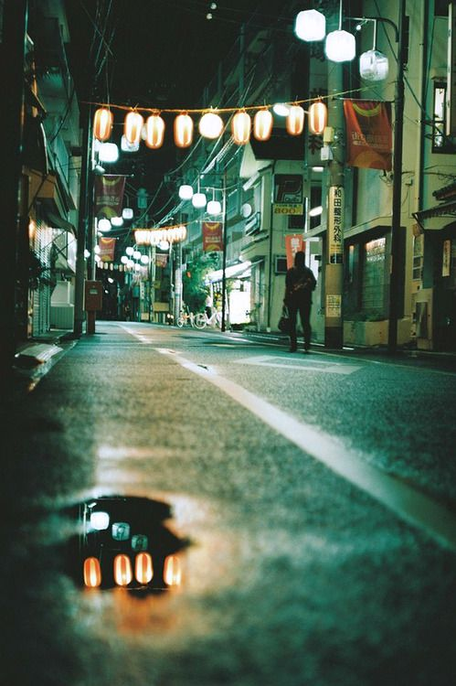 Night street photographs