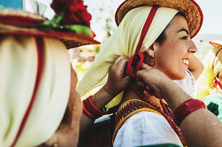 Traje de Romería de San Isidro Labrador. La Orotava, Tenerife, Islas Canarias / Costume at the San Isidro Labrador Pilgrimage. La Orotava, Canary Islands / Tracht auf der Wallfahrt San Isidro Labrador. La Orotava, Teneriffa, Kanarische Inseln #VisitTenerife