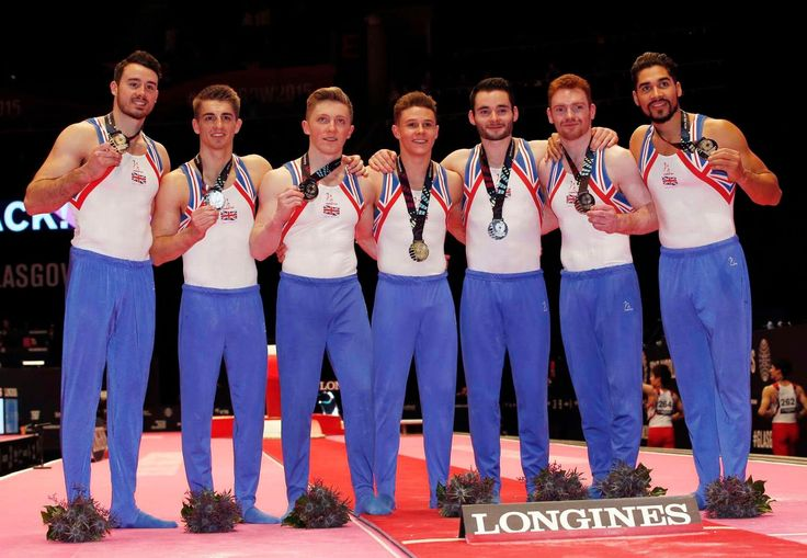 October 2015 - The British team, consisting of Max Whitlock, Louis Smith, Kristian Thomas, Nile Wilson, Brinn Bevan and Daniel Purvis, registered a score of 270.345, just 0.473 behind the newly crowned champions Japan and 0.386 ahead of former world champions China.
