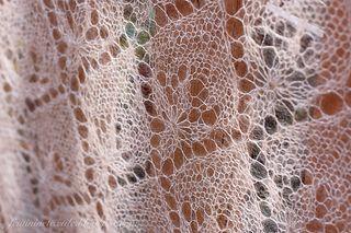 7. Waterlily: for knitting of triangular and rhombic shawls by Olga Jamovidova - free