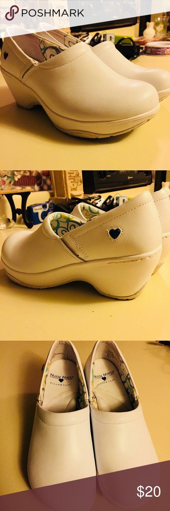 Nurse Mate Bryar Pillow Top Slip-ons Like new. Size 7. Nurse Mates Shoes