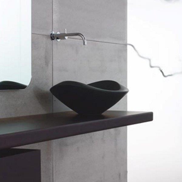 Aufsatzwaschtisch Nido - passend zu Badewanne Lavasca Mini