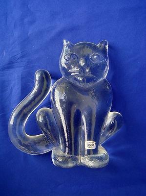 Kosta Boda - Zoo Series - Cat
