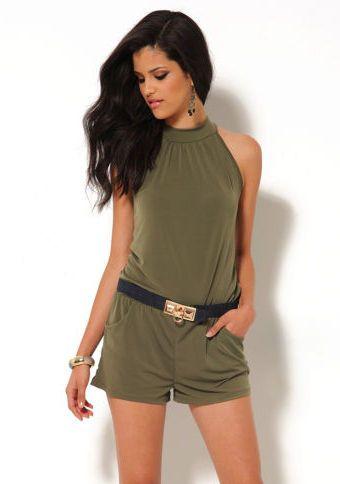 Overal so šortkami #ModinoSK #coverall #fashion #overal #moda #damskamoda #trend #style #original