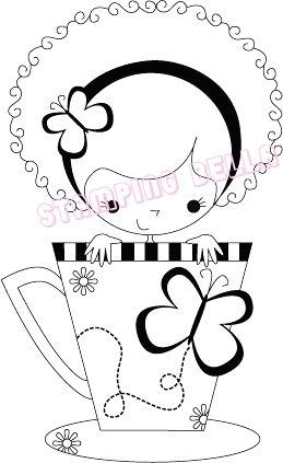 Stamping Bella - Meredith the Teacup Girl