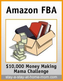 http://www.stay-a-stay-at-home-mom.com/sell-used-books-on-amazon.html Sell Used Books on Amazon via Amazon's FBA Program make money from home, ways to make money at home