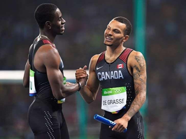 Canada: Le bronze au relais masculin 4x100m