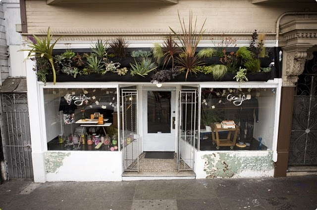 : Stores Front, Idea, Woolli Pockets, Living Wall, Wooli Pockets, Vertical Gardens, Outdoor Gardens, Shops Front, Wall Planters