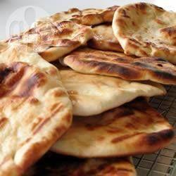 Pan Pan Hindú (Naan) @ allrecipes.com.ar