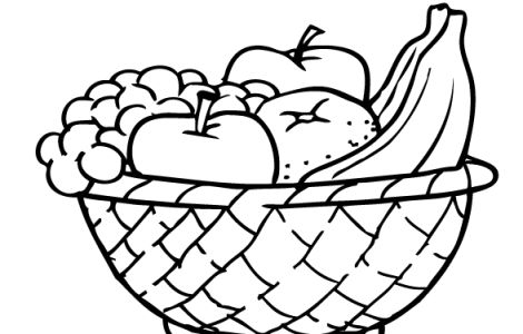 frutas coloring pages - photo#27