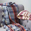 Checked Wool Blanket 29.00