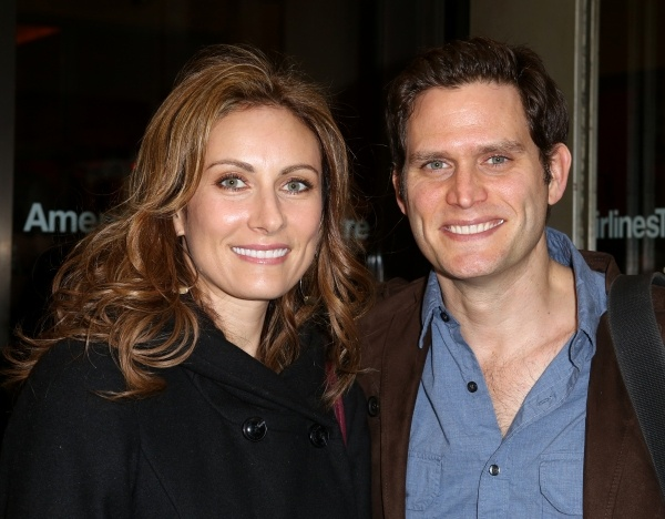Is there a prettier couple? Laura Benanti and Steven Pasquale