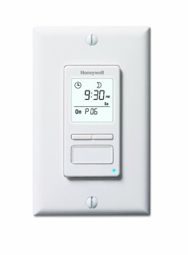 Honeywell Econoswitch RPLS740B 7-Day Solar Time Table Pro...