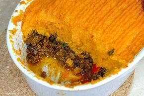 De zoete aardappel en het pittige gehakt zijn een hele goede combi. Pas wel op dat het gehakt niet te pittig wordt. Ik heb er een hele theelepel ch