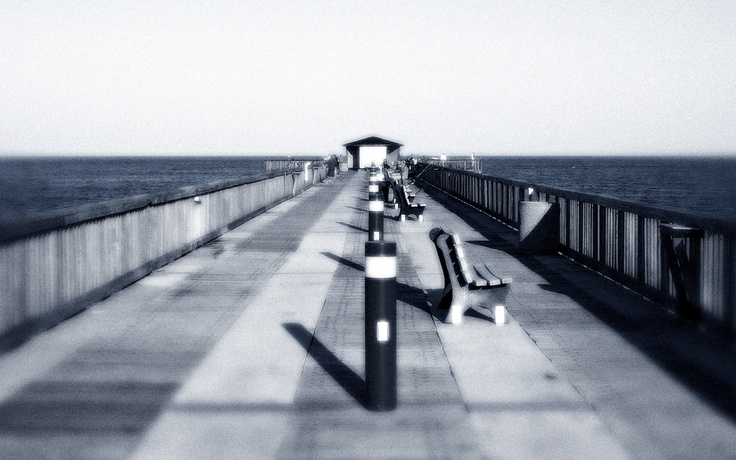 Fishing pier at pompano beach love this place that was a for Pompano fishing pier