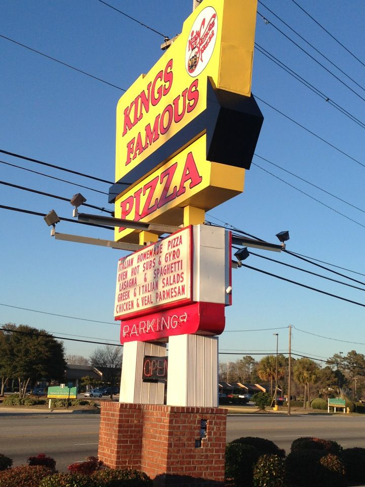 Oh how I I love thee....? King's Famous Pizza in North Myrtle Beach, SC