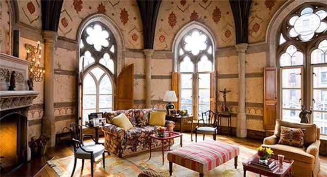 готический стиль в интерьере - Поиск в Google