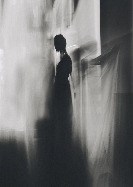 soul dance by David Galstyan on Behance #shadow #silhouette #portrait