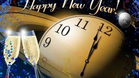 New Year Wallpaper Clock – HDWProjects