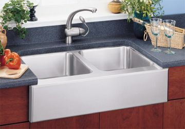 double apron, ceramic front Kitchens and Baths Pinterest Sinks ...