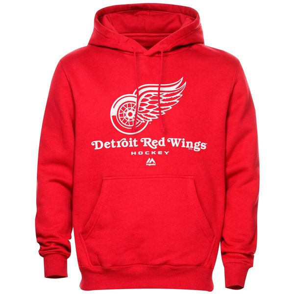 Detroit Red Wings Majestic Critical Victory VIII Fleece Hoodie – Red - $41.99
