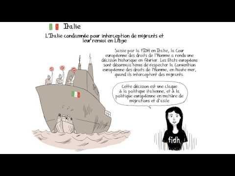 Les droits de l'homme en 2012 version BD
