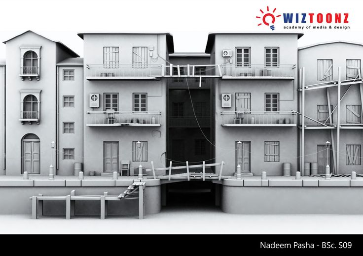 Student Work – 3D Architecture – by Nadeem Pasha of BSc.S09 batch  #3D #Architecture #3DArchitecture #3DBuilding