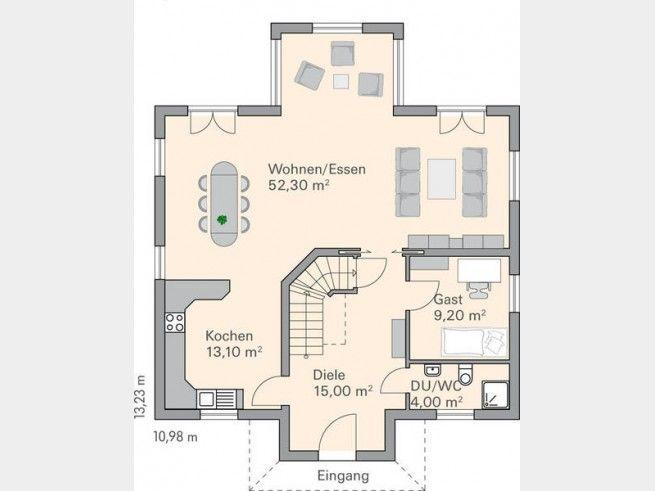 Grundriss haus modern mit erker  110 best Grundriss fürs Traumhaus - Floor Plans images on ...