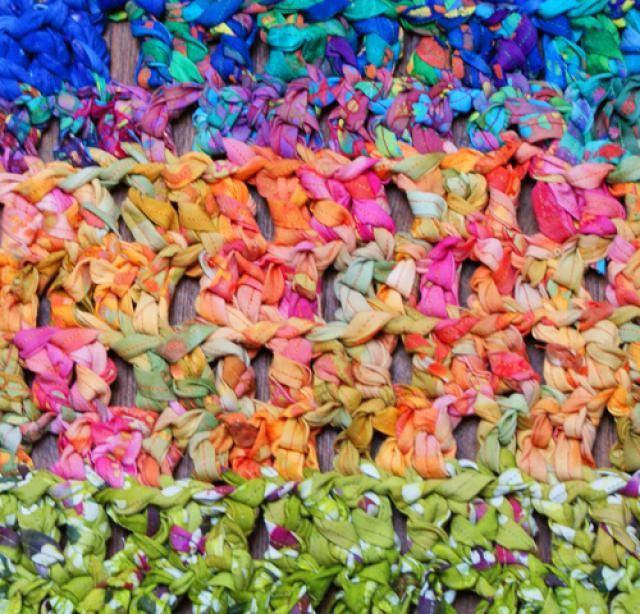 Crochet Your Own Colorful Rag Rug with This Guide