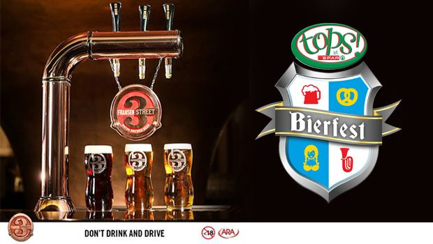 Bierfest Johannesburg - To celebrate the beauty that is beer, we're giving our readers the opportunity to win some awesome prizes with TOPS at SPAR Bierfest