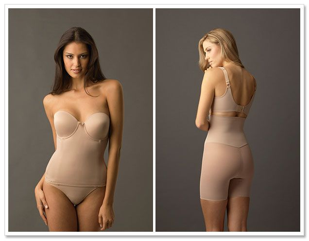 JGood to know!  How To Pick the Best Shapewear for Your Wedding Dress  I was just fretting about this