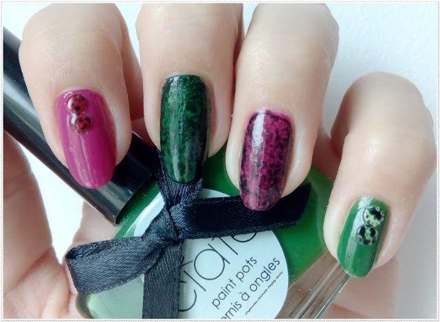 Unghiutze colorate-Happy nails: Nail Art Marathon-18.Saran Wrap