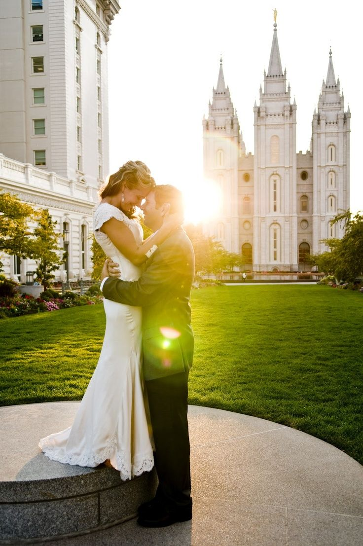 Modest lds wedding dress idea pinterest wedding for Mormon temple wedding dresses