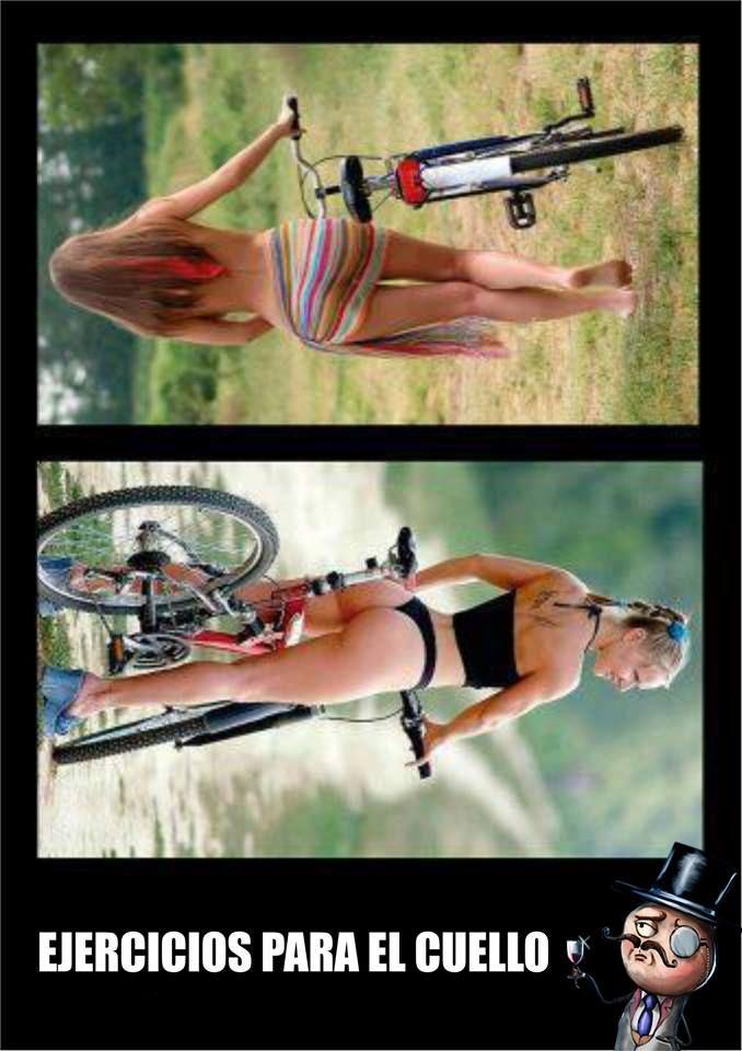 Ejercicios para el Cuello http://www.grafichistes.com/graficos/ejercicios-para-el-cuello/ - #Chistes #Humor http://www.grafichistes.com
