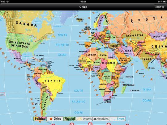 Carte Du Monde Interactive.Carte Du Monde Interactive Carte