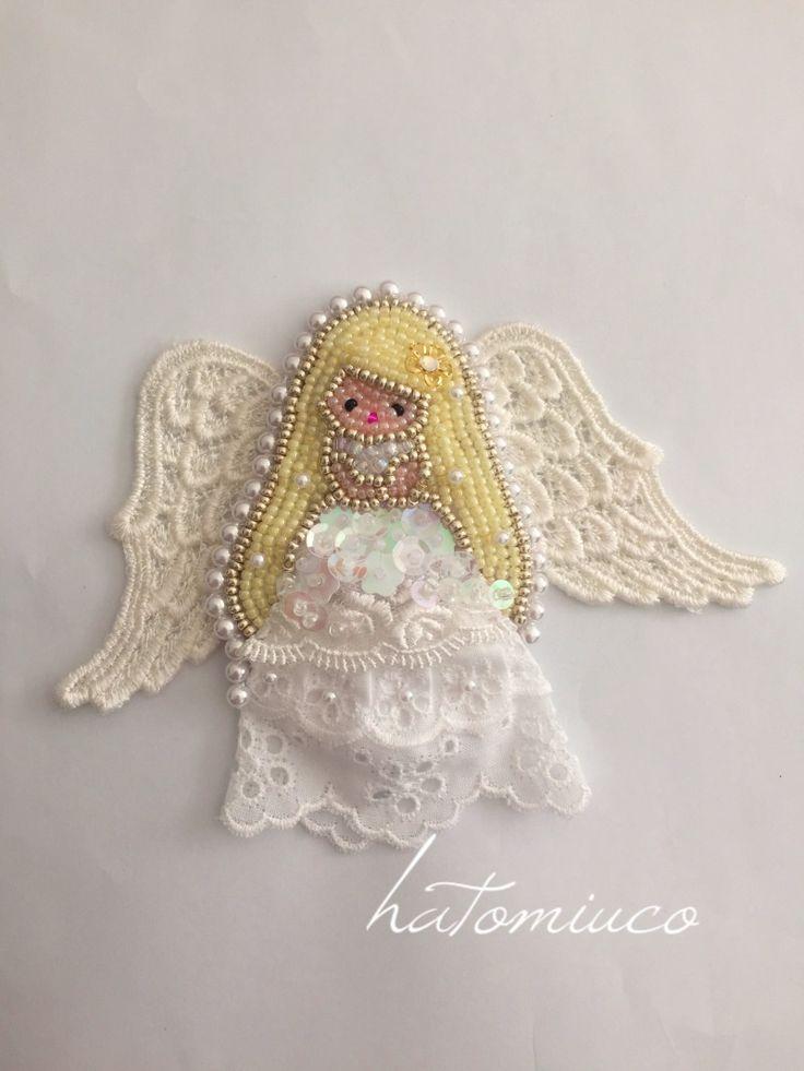 鳩みう子のハンドメイドブログ*キラキラのビーズ刺繍