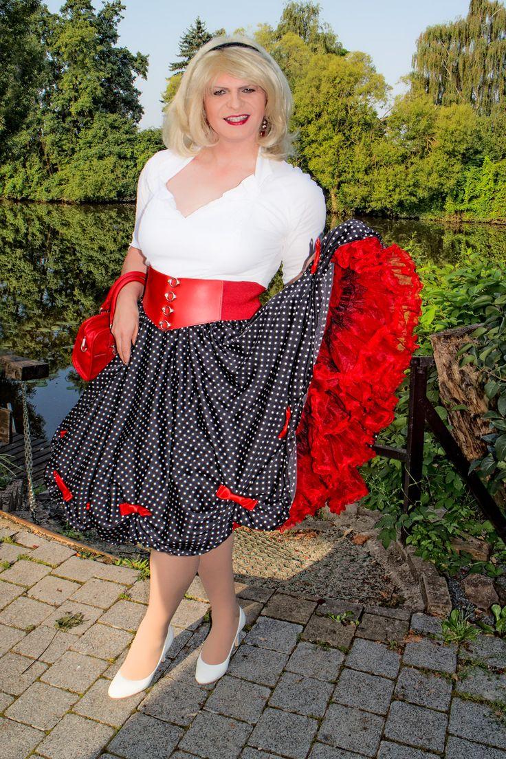 Lovely Petticoat Frilly Dresses Men Wearing Dresses
