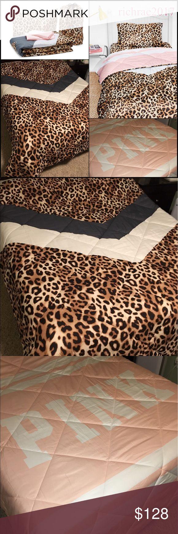 Vs pink bed sets - Nwt Victoria Secret Bed Set Full Queen Nwt