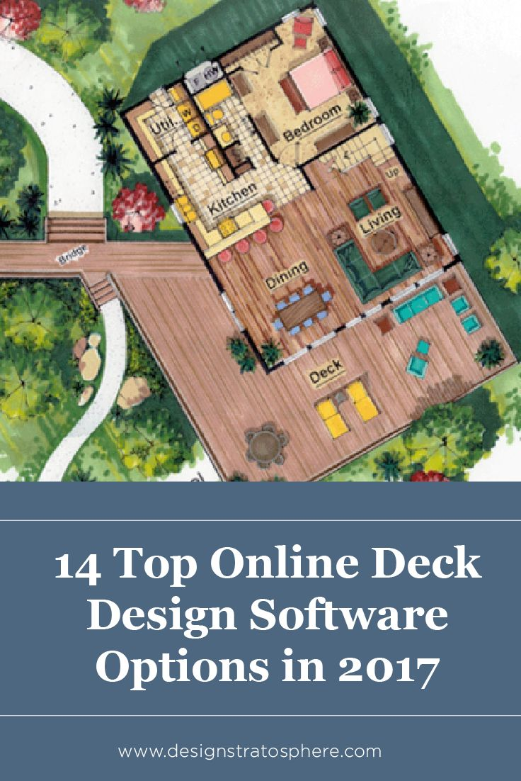 Best 25 free deck design software ideas on pinterest deck 14 top online deck design software options in 2017 free and paid baanklon Gallery